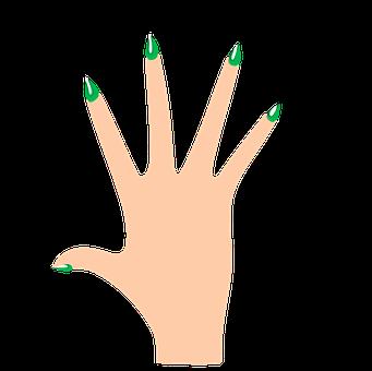 skórki przy paznokciach
