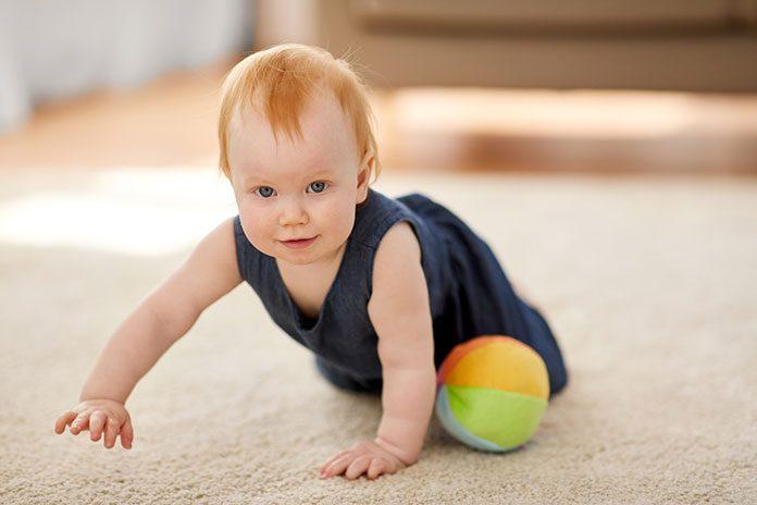 Kamienie milowe w rozwoju niemowląt