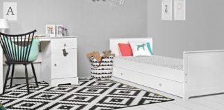 Białe meble w dziecięcym pokoju – praktyczne i ponadczasowe